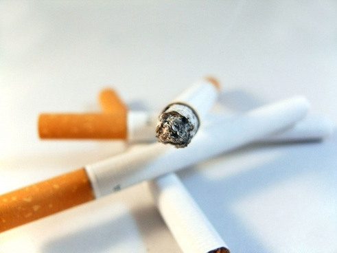 cigarette white smoke