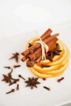 cinnamon clove and orange