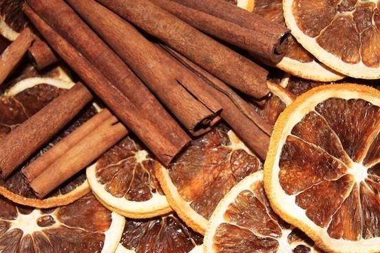 cinnamon orange oranges