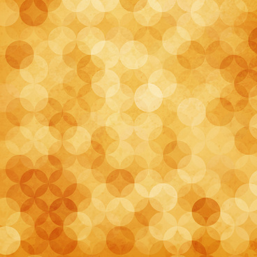 circle orange abstract background