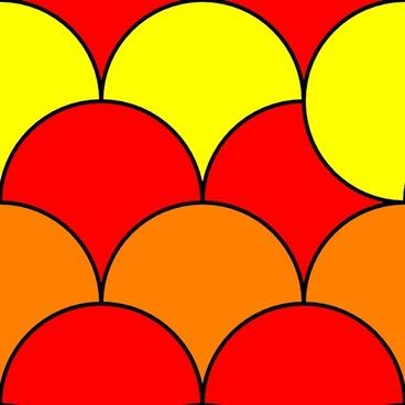 Circles 2 Pattern clip art