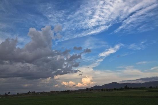 cirrus clouds sky clouds