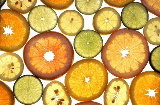 citrus fruits oranges lime