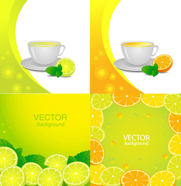 citrus hybrid background vector
