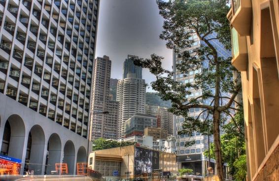 city of hong kong china