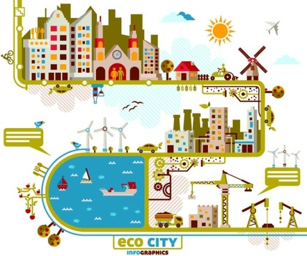 City Vector material