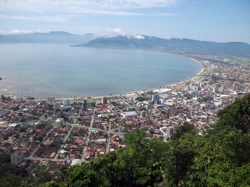 city view sea