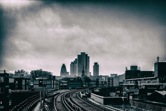 cityscape from hoxton