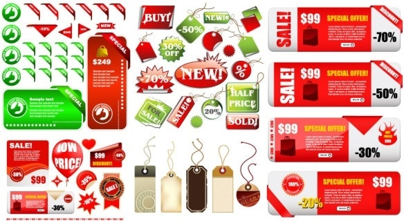class sets of discount sales vector