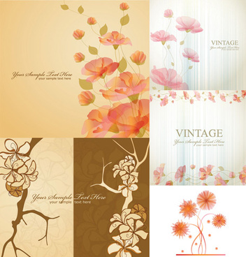 classic decorative pattern background vector graphics