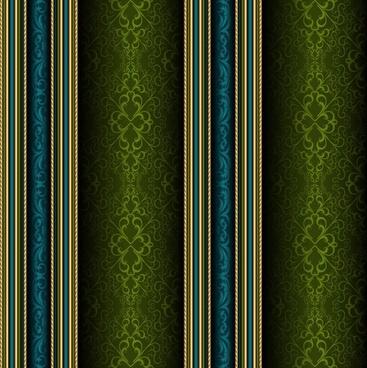 decorative pattern elegant traditional vertical symmetric design