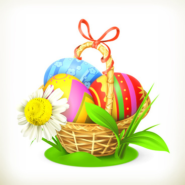 classic easter egg vector design