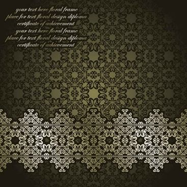 Classic European pattern background003