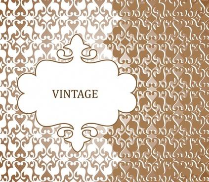decorative background traditional vintage flat symmetric decor