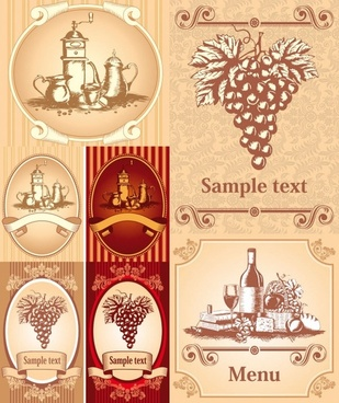 Wine bottle free vector download 1696 free vector for commercial classic europeanstyle wine bottle stickers vector yelopaper Gallery