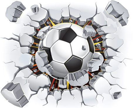 classic football vector background