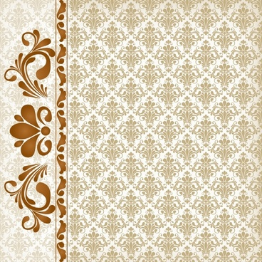 decorative pattern elegant retro symmetric repeating shapes