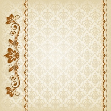 decorative pattern template elegant european symmetric repeating design