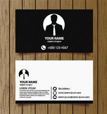 Modern business card design eps free vector download 183872 free classic modern business cards vector reheart Images