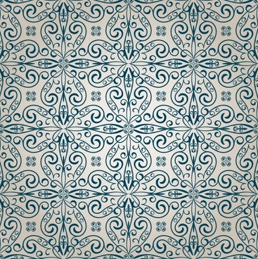 classic pattern background 02 vector