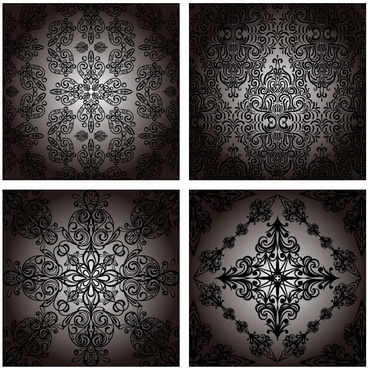 classic pattern background 05 vector