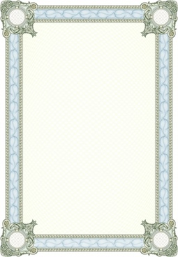 classic pattern border vector counterfeiting
