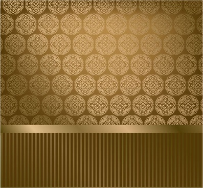 classic pattern wallpaper 02 vector