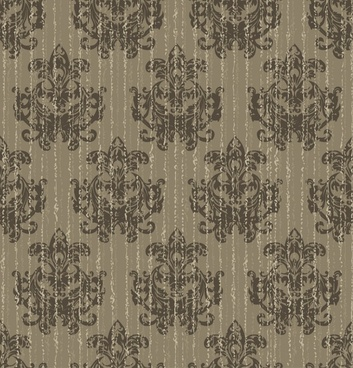 decorative pattern template dark retro flat repeating symmetry