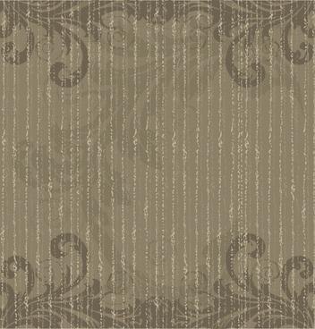 decorative pattern template dark grey retro symmetric design