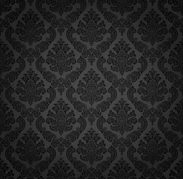 decorative pattern dark retro symmetrical decor