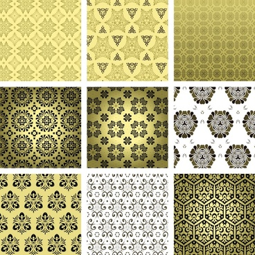 pattern templates flat repeating symmetric shapes decor
