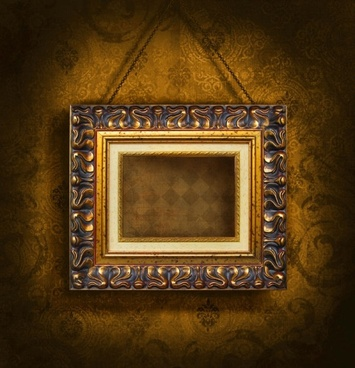 classic wood frame 02 hd picture