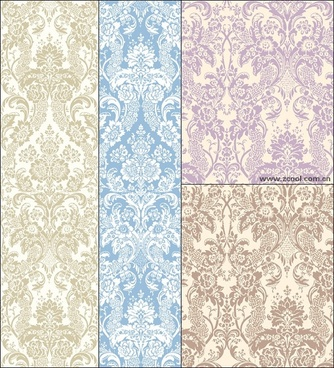 classical elegant background pattern vector