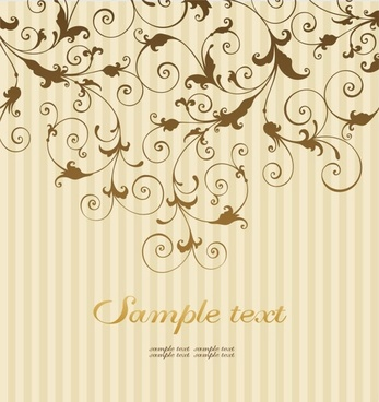 classical pattern background 05 vector