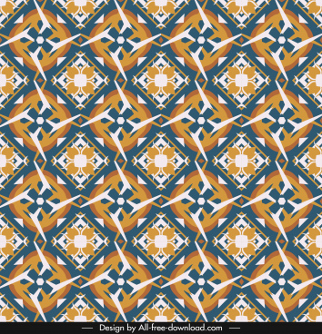 classical pattern template colorful flat repeating symmetric sketch