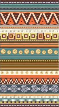 traditional pattern templates colorful classical geometric decor