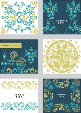 classical pattern vector background