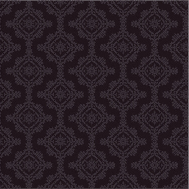 classical seamless pattern black style vector