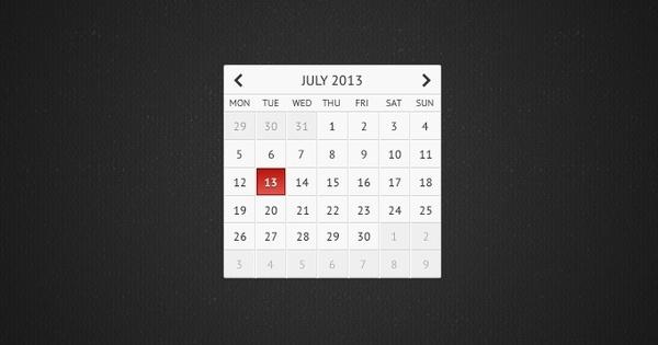 Clean Calendar