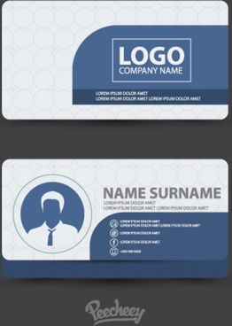 clean design business card