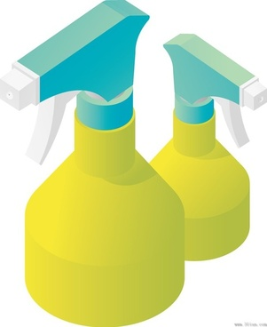 cleaning solution vector