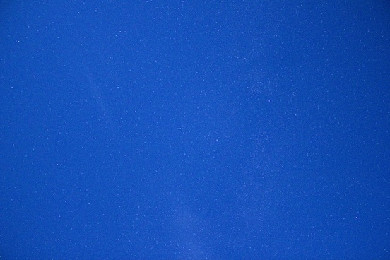 clear blue night sky at hogback prairie state natural area wisconsin