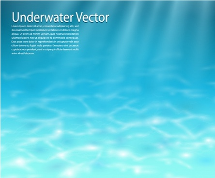 clear waters vector