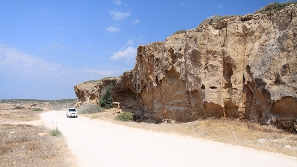 cliffs desert formations