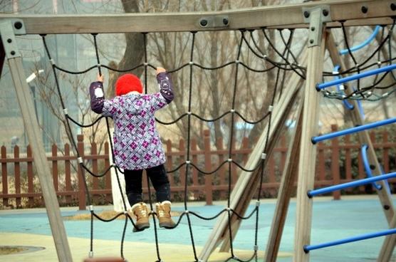 climb climbing child