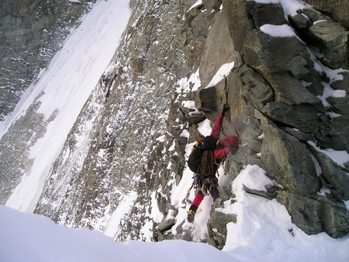 climb mountaineering north wall