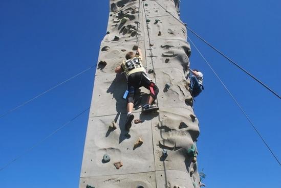 climb rock boys