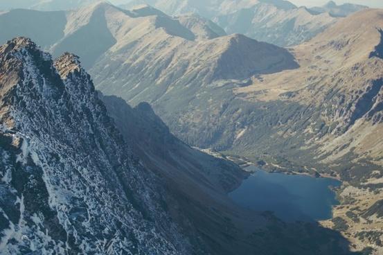 climbing daytime glacier hiking hill landscape