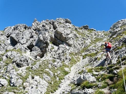 climbing hike hiking