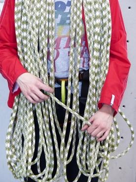 climbing rope rope climb